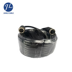 Waterproof 6PIN Male To Female Electrical Aviation Cable With Gold Plated Connector